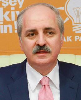 Turkish Deputy Prime Minister Numan Kurtulmus.