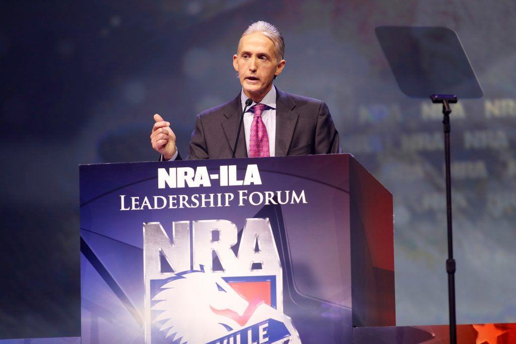 Rep. Trey Gowdy (R-SC) attends the National Rifle Association's NRA-ILA Leadership Forum during their annual meeting in Louisville, Kentucky, May 20, 2016. REUTERS/Aaron P. Bernstein