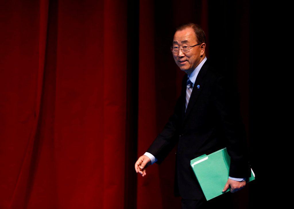 U.N. Secretary-General Ban Ki-moon.(Reuters/Murad Sezer/File)