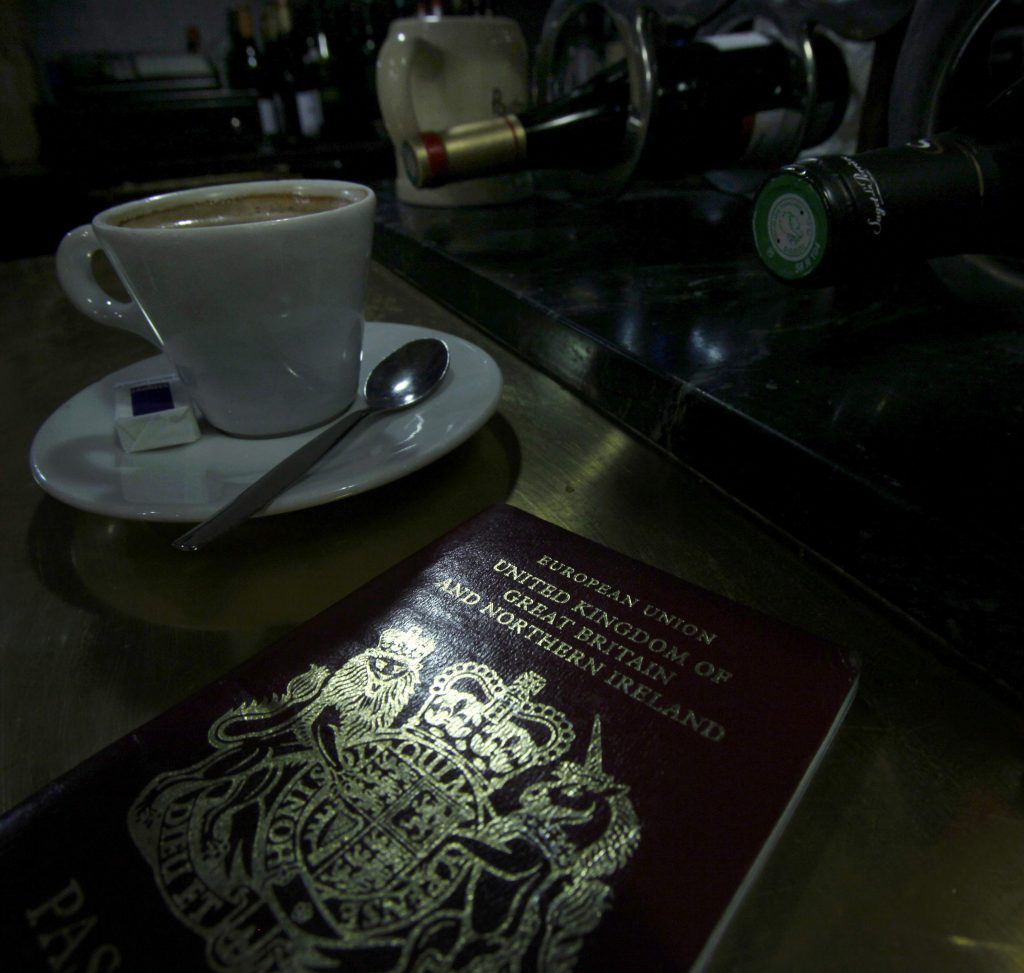 A British passport (Reuters/Mal Langsdon/File)