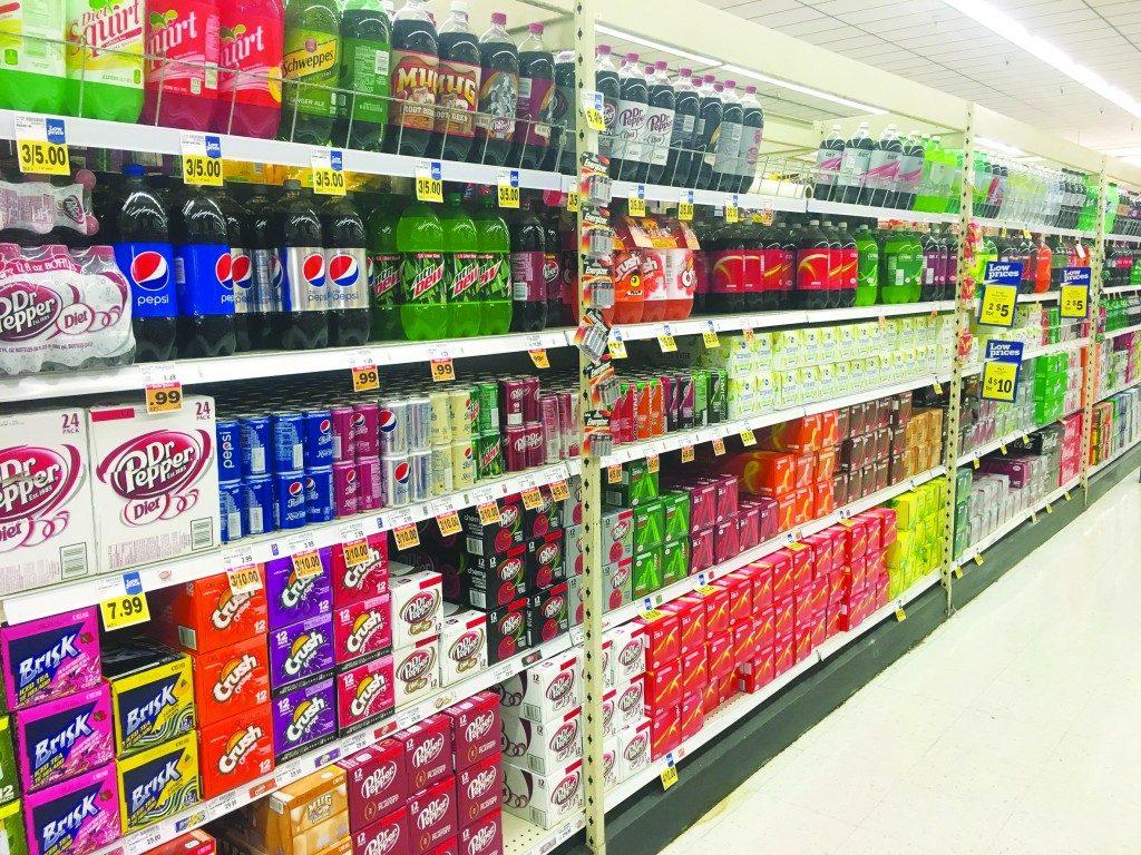 To Walmart For Some Diet Sodas