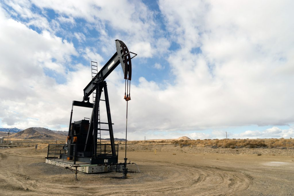 An oil pump in Wyoming.