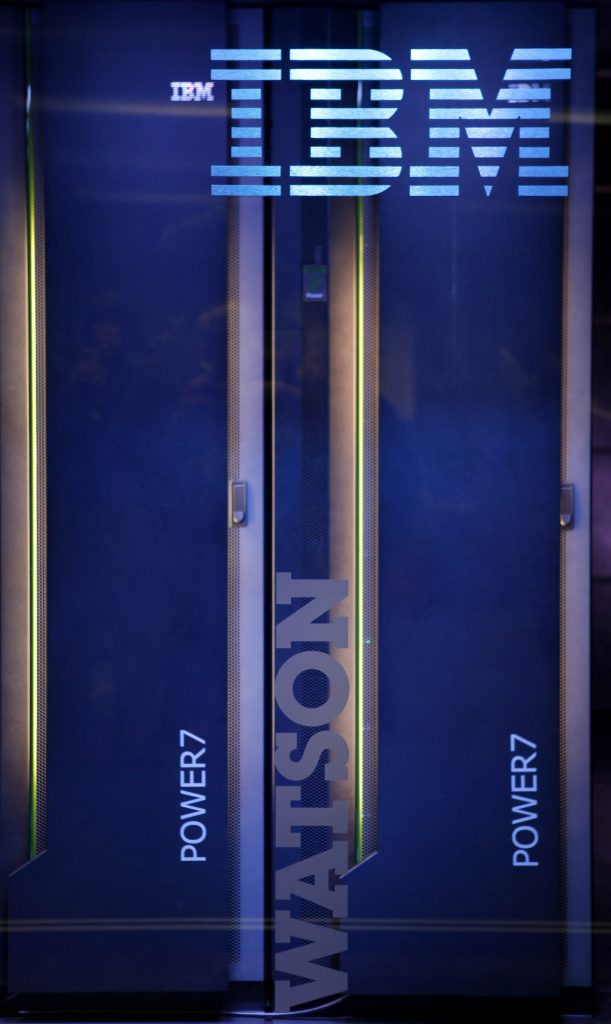 """The hardware for an IBM computer called """"Watson"""". (AP Photo/Seth Wenig)"""