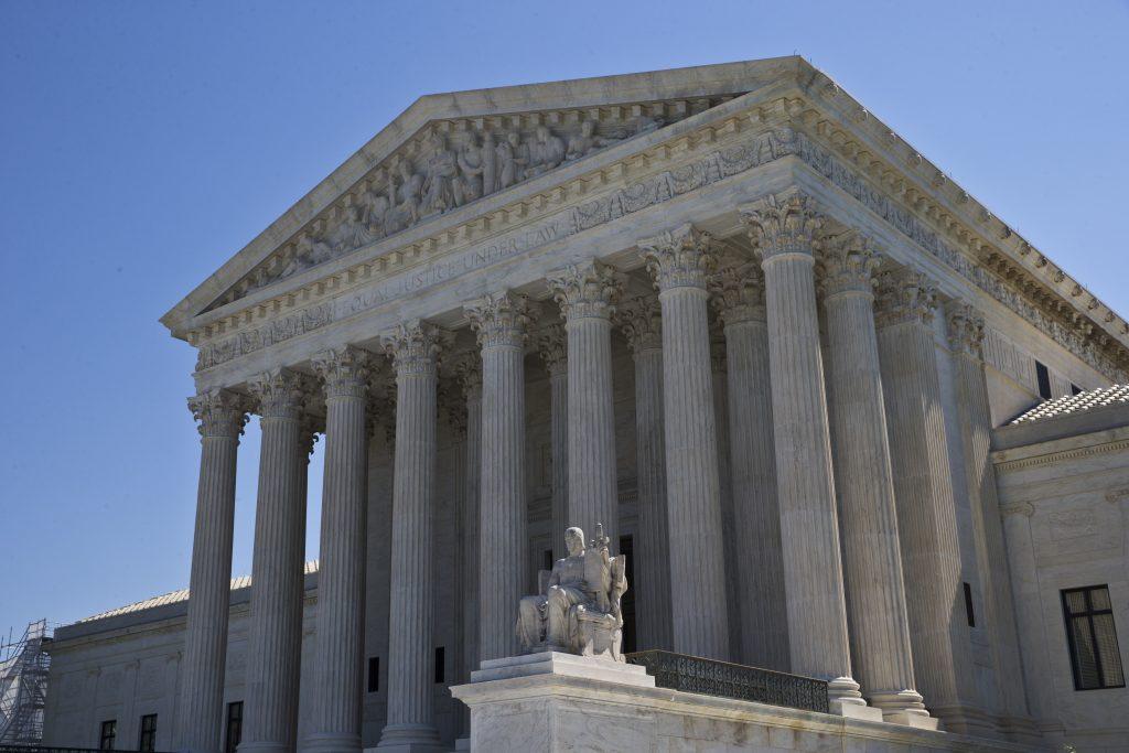 The Supreme Court is seen in Washington. (AP Photo/Alex Brandon)