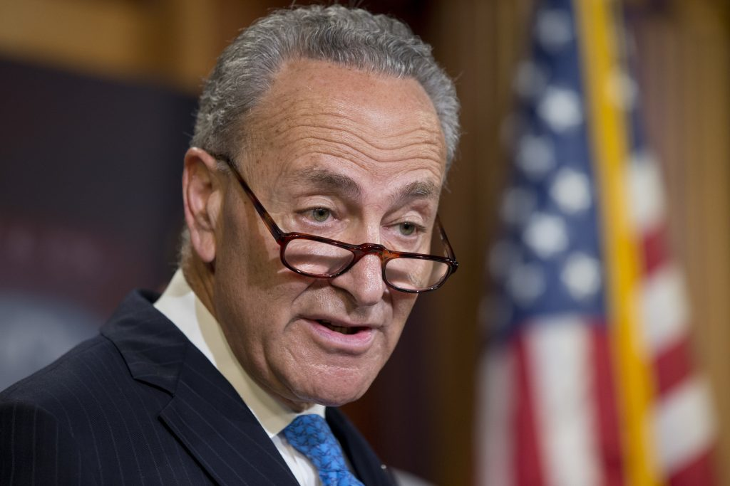 Sen. Charles Schumer, D-N.Y. (AP Photo/Alex Brandon)