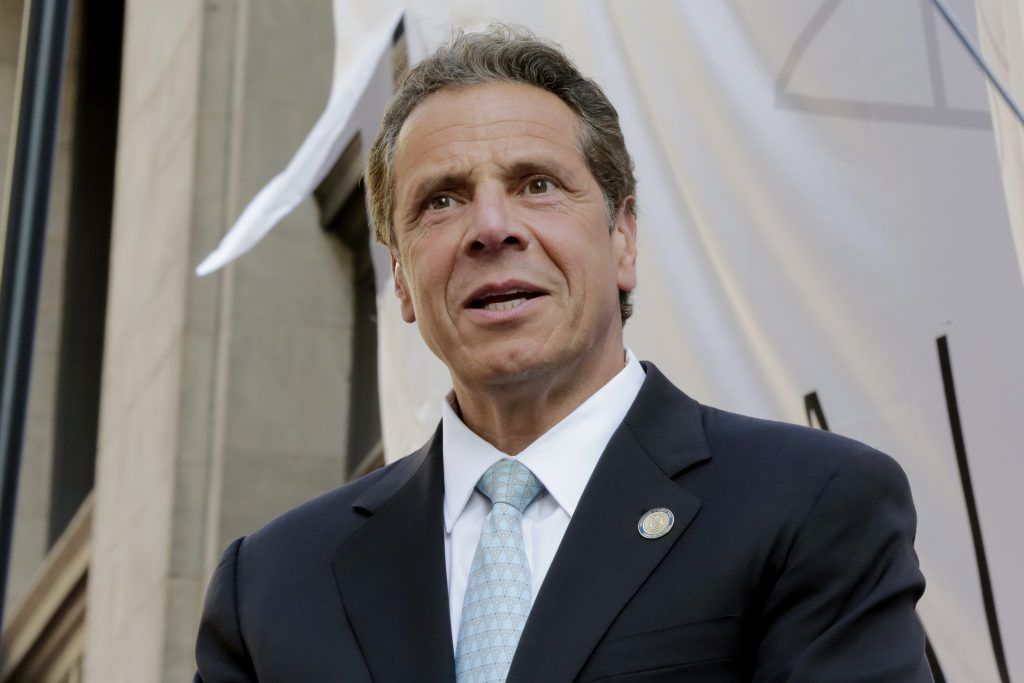 New York Gov.Andrew Cuomo (AP Photo/Richard Drew)