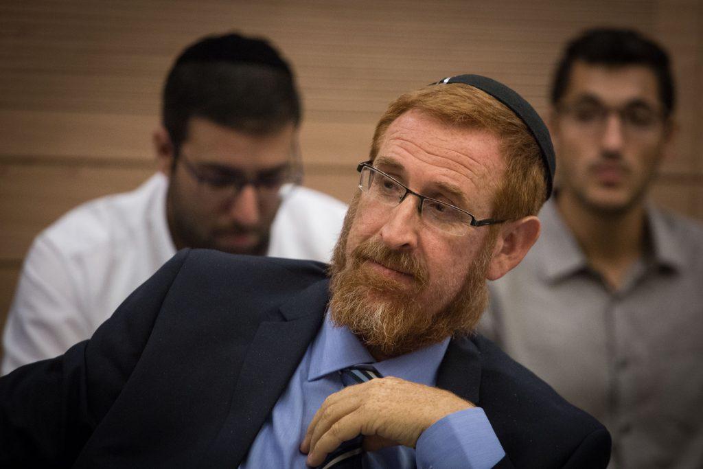 Likud MK Yehuda Glick (Hadas Parush/Flash90)