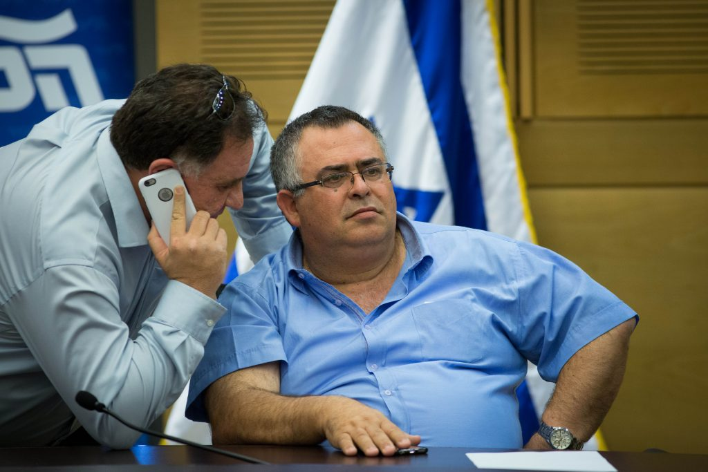Coalition Chairman MK David Bitan of Likud. (Miriam Alster/Flash90)