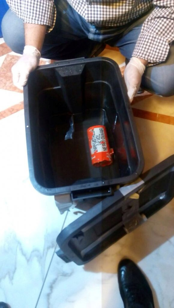 A flight recorder retrieved from the crashed EgyptAir flight MS804 is seen in this undated picture issued June 17, 2016. EGYPTIAN AVIATION MINISTRY via REUTERS ATTENTION EDITORS - THIS IMAGE WAS PROVIDED BY A THIRD PARTY. REUTERS IS UNABLE TO INDEPENDENTLY VERIFY THIS IMAGE. EDITORIAL USE ONLY. NO RESALES. NO ARCHIVE.