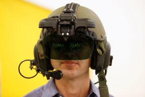 IronVision, a 360-degree helmet display system for tank troops. (Reuters/Baz Ratner)