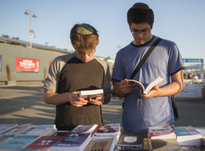 Book Week . Photo by Yonatan Sindel/Flash90