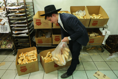 Bread. Photo by Shlomi Cohen/Flash90
