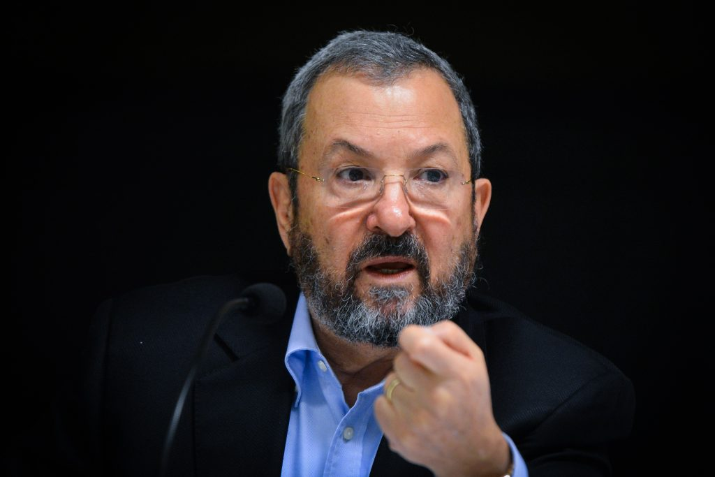 Former Israeli Prime Minister Ehud Barak. (Flash90)