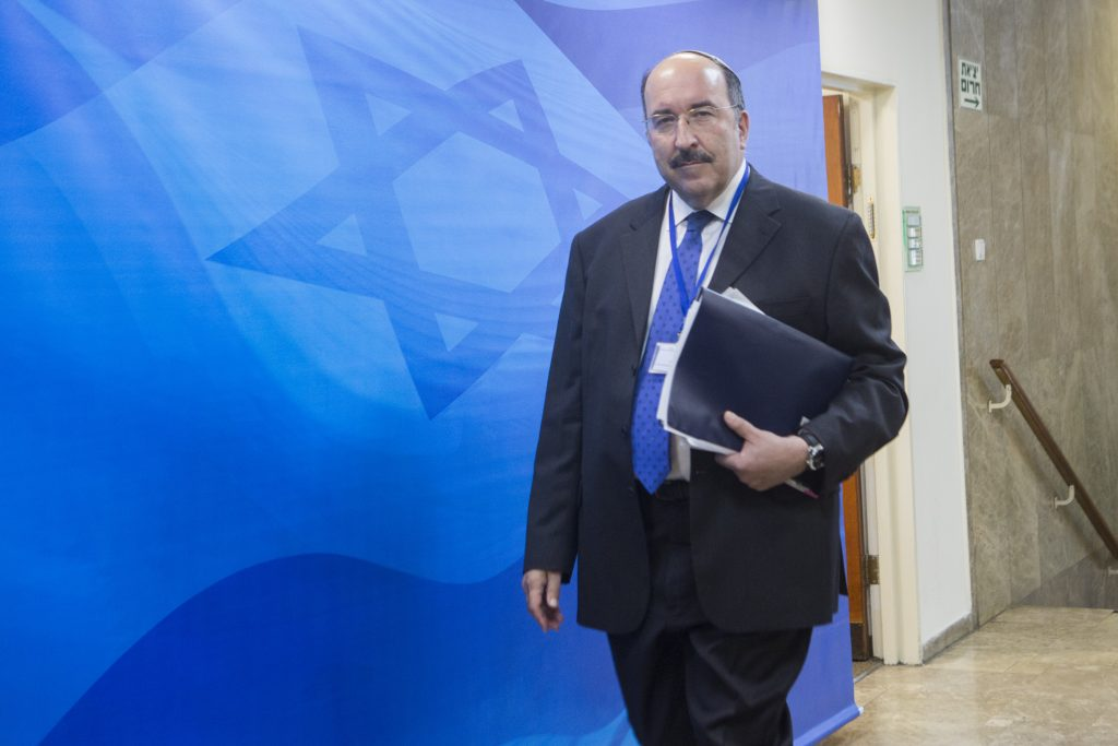 Dore Gold, Director-General of the Israeli Ministry of Foreign Affairs. (Miriam Alster/Flash90)
