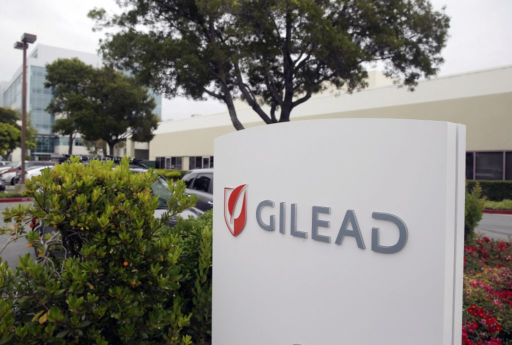 The headquarters of Gilead Sciences in Foster City, Calif. (AP Photo/Eric Risberg, File)