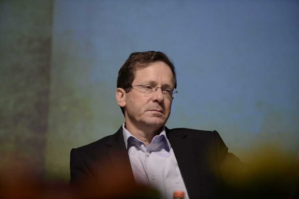 Opposition leader Isaac Herzog. (Tomer Neuberg/Flash90)