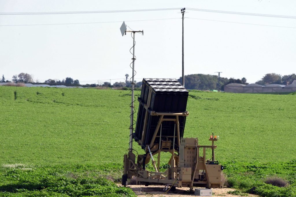 A great system, but nobody wants to buy it. An Iron Dome battery seen near the southern Israeli town of Netivot. (Flash90)