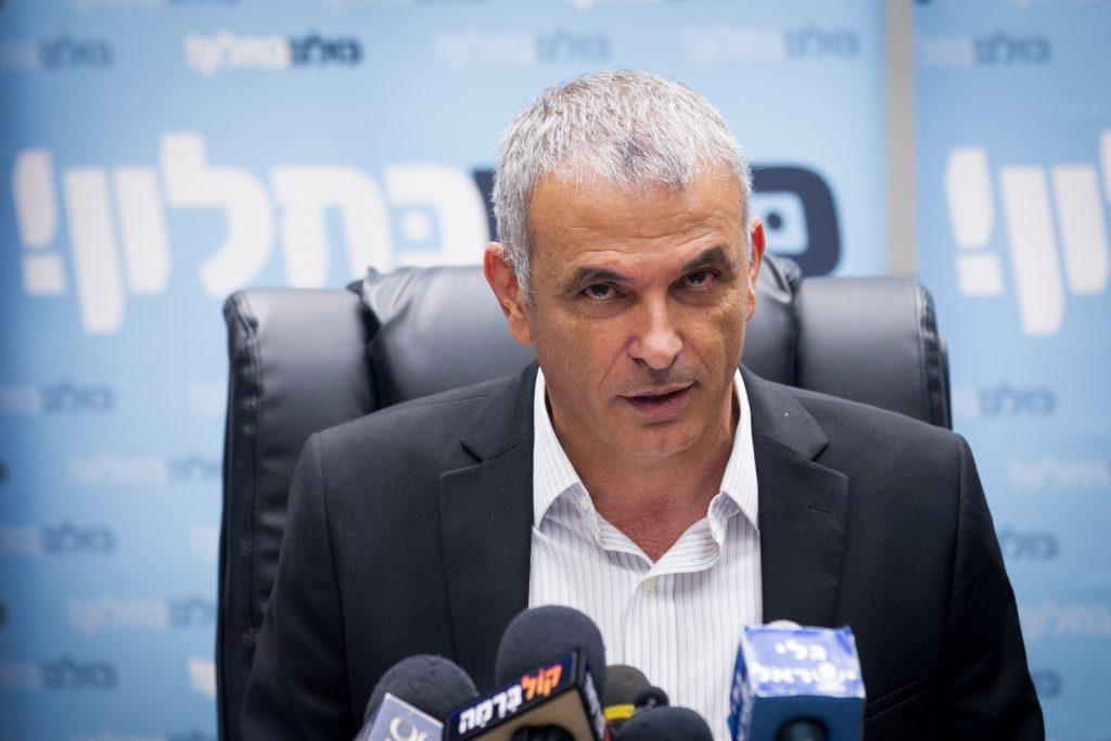 Finance Minister Moshe Kahlon (Miriam Alster/Flash90)