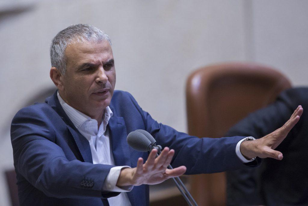 Israeli Finance Minister Moshe Kahlon (Noam Revkin-Fenton/Flash90)