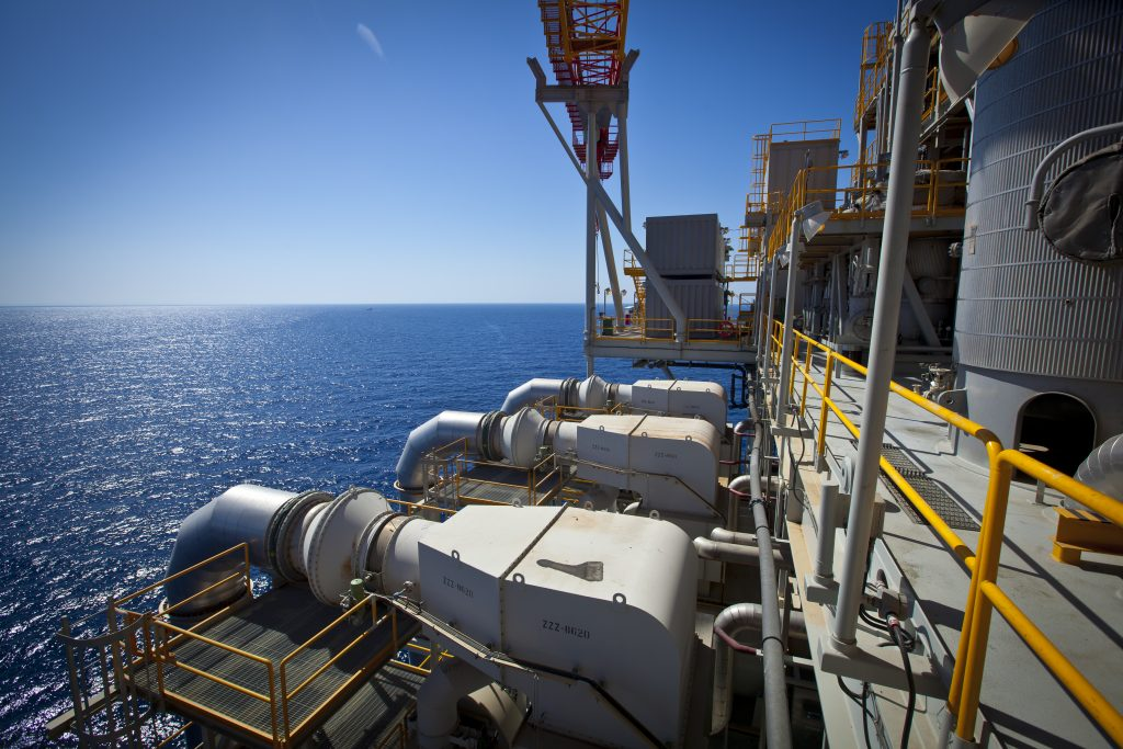 Estimates of Israel's offshore gas reserves are in dispute. (Moshe Shai/Flash90)