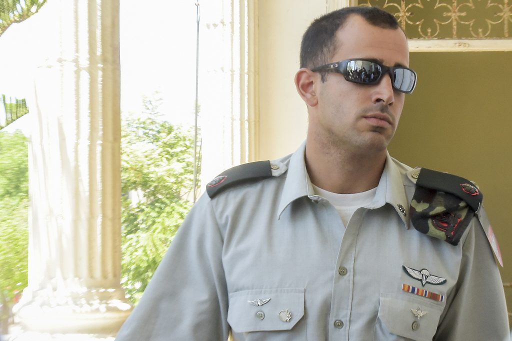 IDF Maj. Tom Naaman (Flash90)
