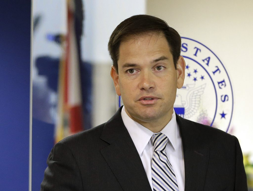 Sen. Marco Rubio, R-Fla. (AP Photo/Alan Diaz, File)
