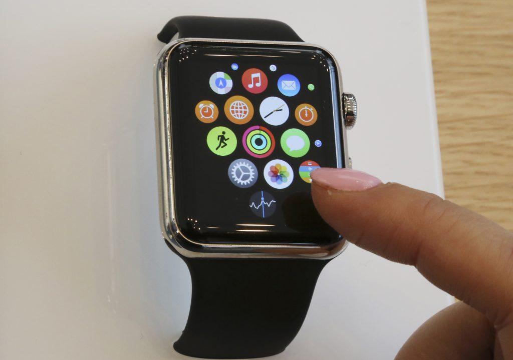 The Apple Watch (AP Photo/Koji Sasahara, File)