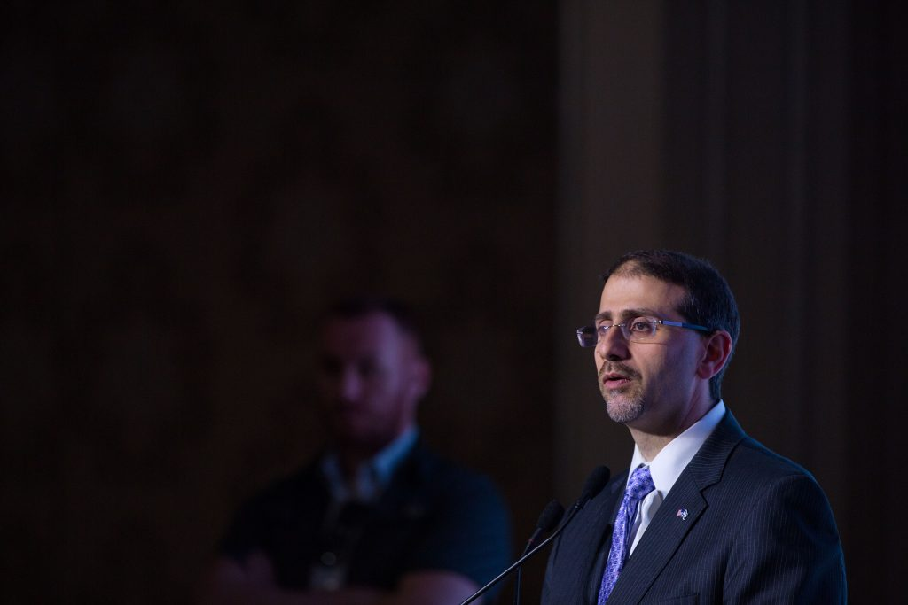 Dan Shapiro, United Stated ambassador to Israel. (Miriam Alster /Flash90)