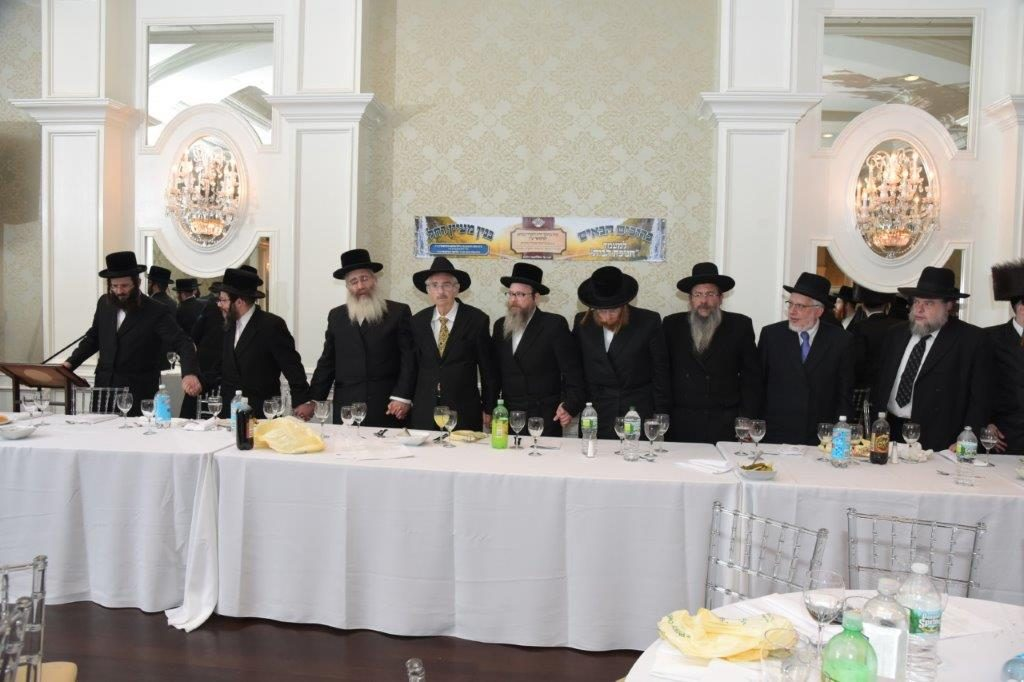 Chanukas Habayis of the new Belza Mikvah in Lakewood, NJ