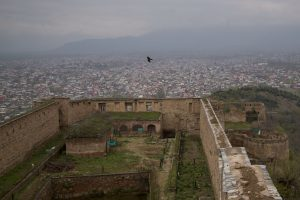 This April 5, 2016, photo shows a view of Srinagar, the main city of Kashmir, as seen from the 18th century Hari Parbat Fort situated atop a hill. (AP Photo/Dar Yasin, File)