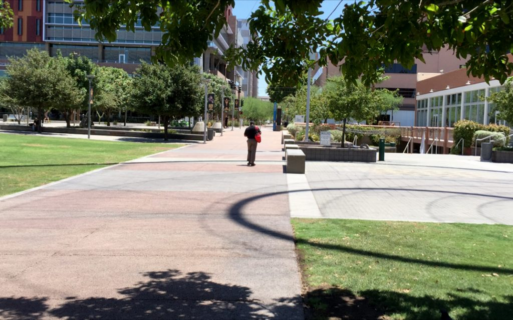 Civic Space Park in downtown Phoenix. (William Yardley/Los Angeles Times/TNS)
