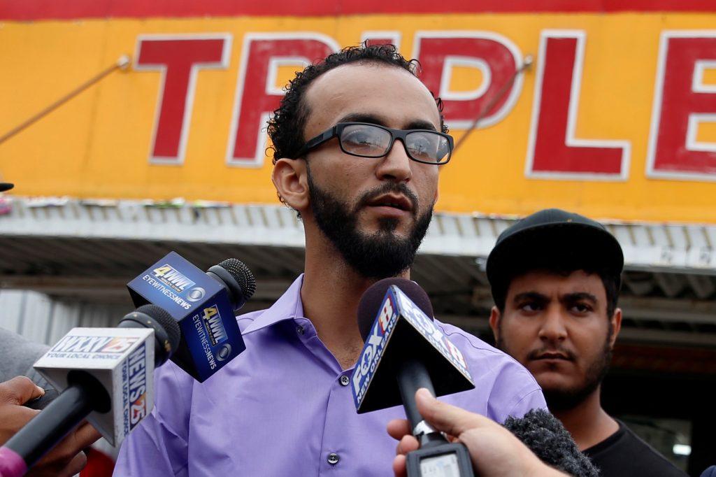 Abdullah Muflahi speaks to the media in Baton Rouge, Louisiana, on Monday. (Reuters/Shannon Stapleton/File)