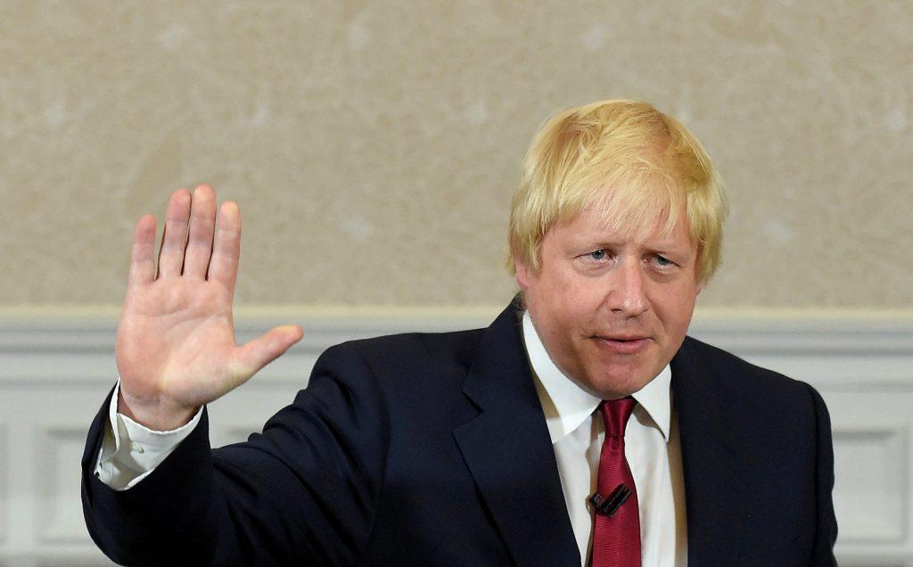 Boris Johnson, seen here speaking in London, on June 30. (Reuters/Toby Melville/File)