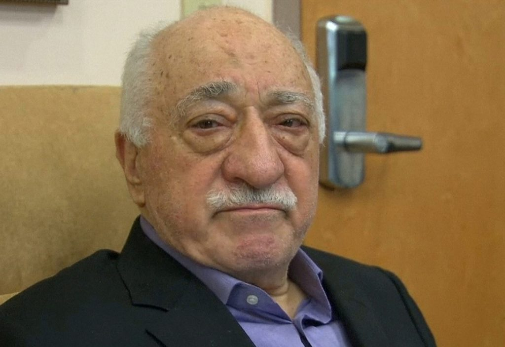 U.S.-based cleric Fethullah Gulen, whose followers Turkey blames for a failed coup, is shown in still image taken from video, as he speaks to journalists at his home in Saylorsburg, Pennsylvania July 16. (Greg Savoy/Reuters/File Photo)