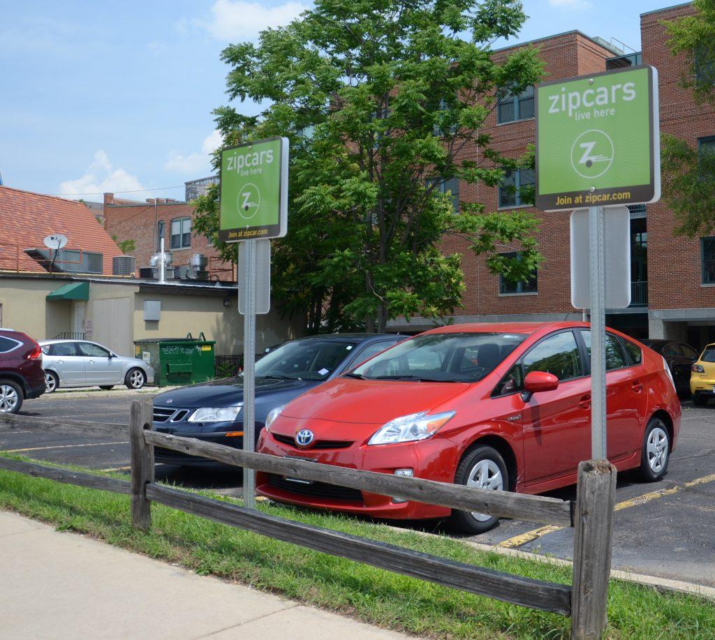 Zipcar location