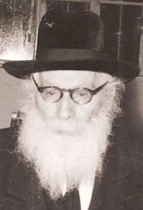 Harav Eliezer Yehuda Finkel.