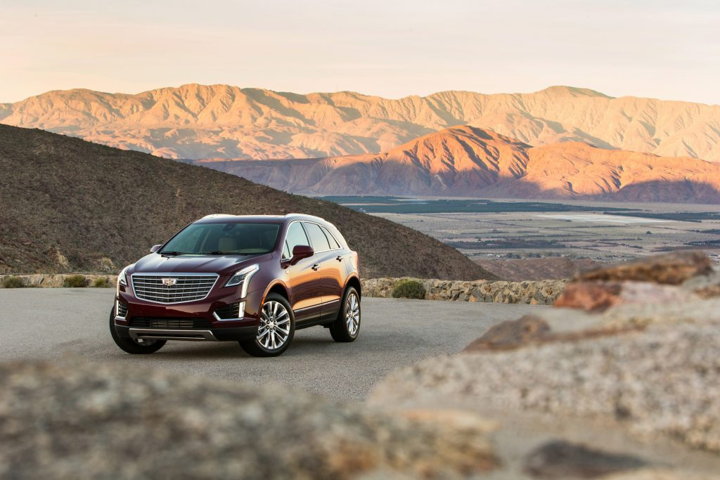 The 2017 Cadillac XT5 enjoys styling that adroitly improves on the SRX's harsh stylistic crispness. (Jim Fets/Cadillac/TNS)