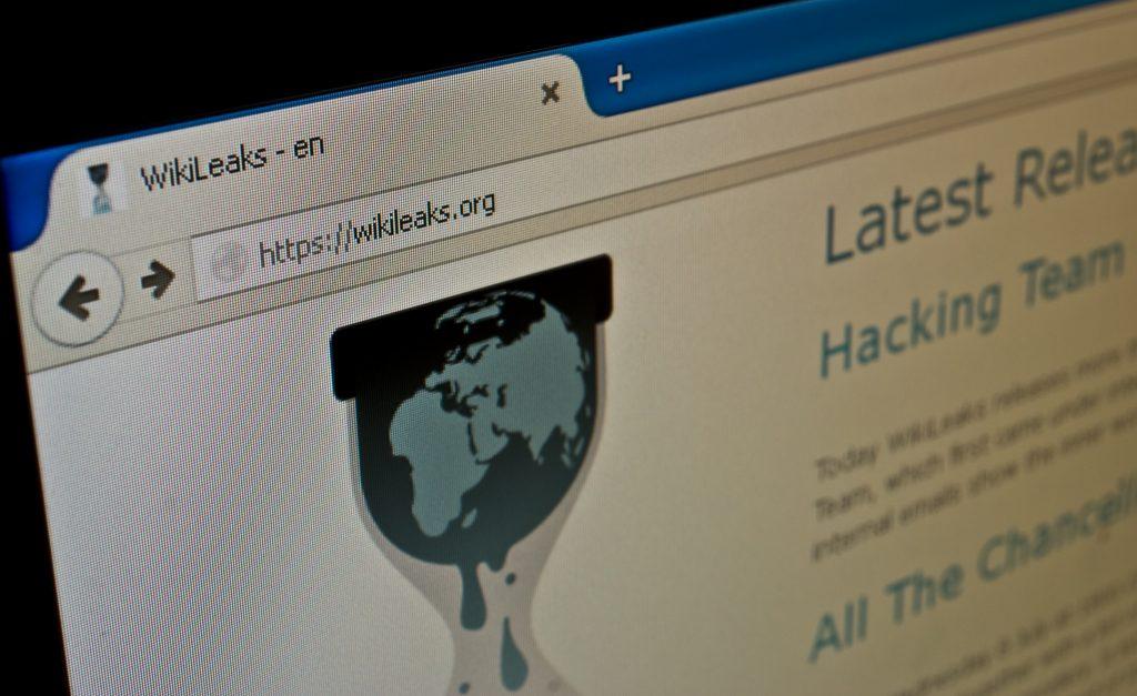 42766090 - katowice, poland - july 11, 2015: wikileaks.org. official wikileaks website.