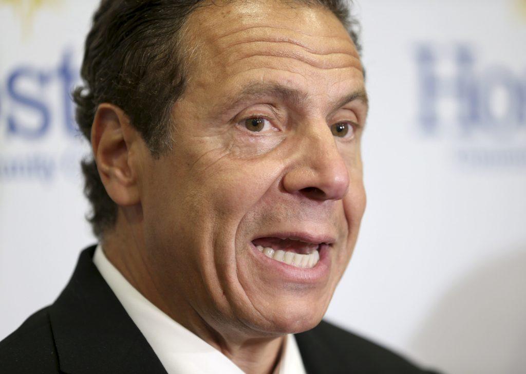 New York Governor Andrew Cuomo (AP Photo/Seth Wenig)