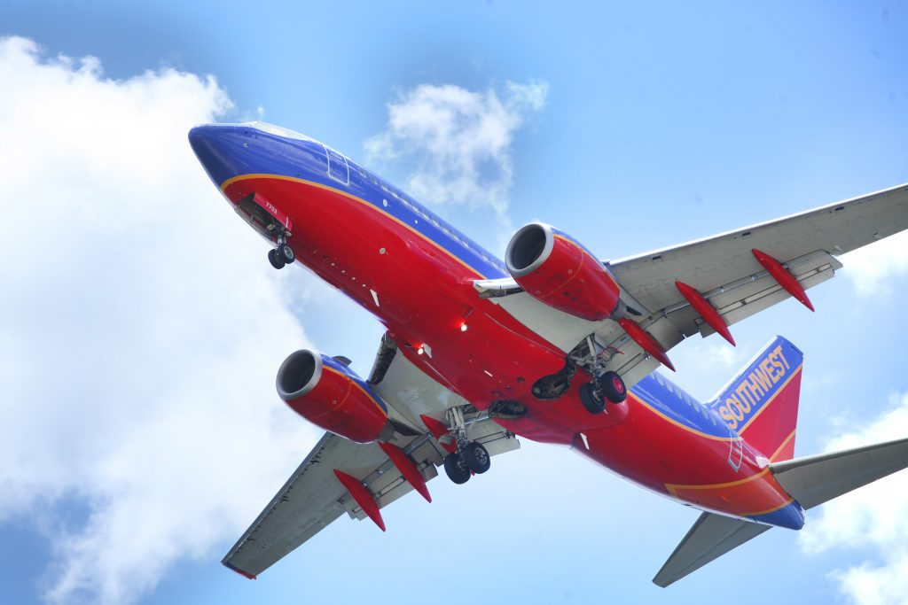 FILE -A Southwest Airlines jet gets ready to land at Tampa International Airport, in Tampa, Fla. (Skip O'Rourke/The Tampa Bay Times via AP, File)