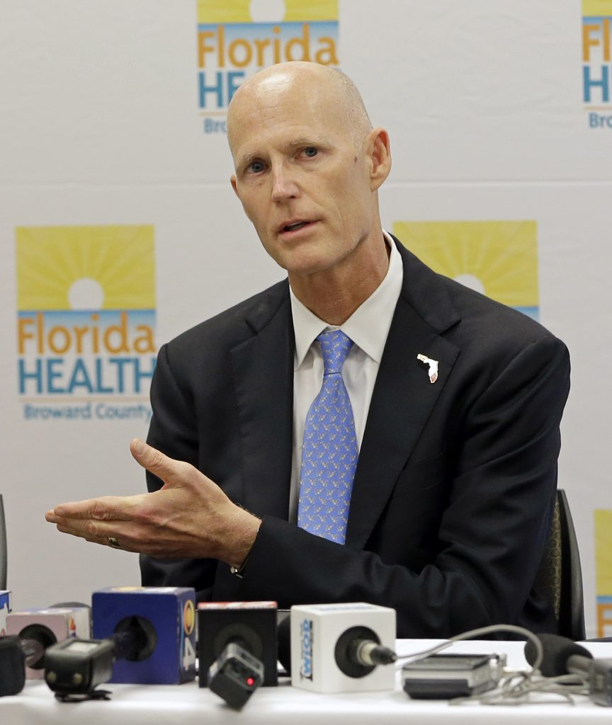 Florida Gov. Rick Scott (AP Photo/Alan Diaz)