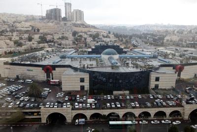 View of the Malcha Mall. Photo by Yossi Zamir/Flash90