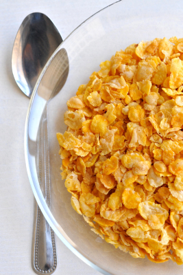 A close up of a bowl of Cornflakes. April 3, 2011. Photo by Sophie Gordon / Flash 90 *** Local Caption *** ???????? ???? ????? ???? ??? ???? ?????????? ??????????? *** Local Caption *** ???????? ???? ????? ???? ??? ???? ?????????? ???????????