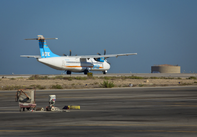 An Arkia flight lands at the Sde Dov Airport . Photo by Moshe Shai/FLASH90 *** Local Caption *** ????? ????? ???? ???? ???? ??? ?? ????