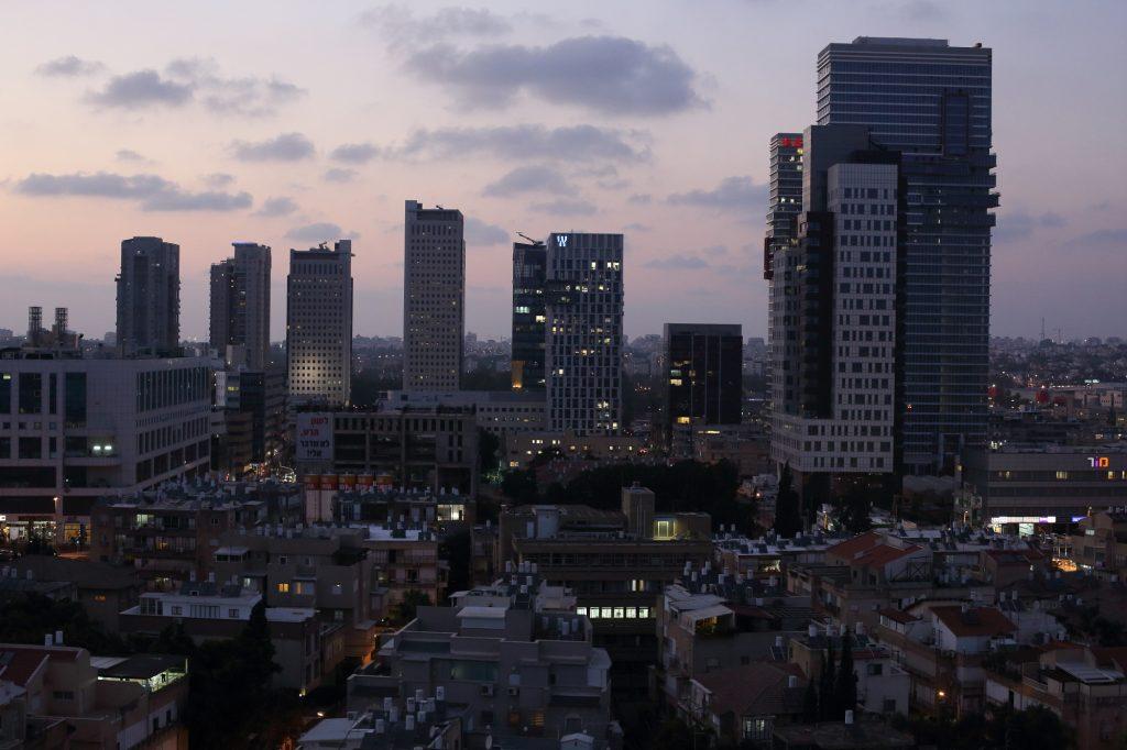 View of Bnei Brak. Photo by Yaakov Naumi/FLASH90