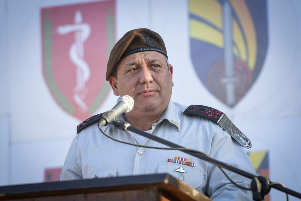 IDF Chief of Staff Gadi Eisenkot. (Sraya Diamant/IDF Spokesperson)