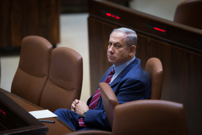 Prime Minister Binyamin Netanyahu. Photo by Yonatan Sindel/Flash90