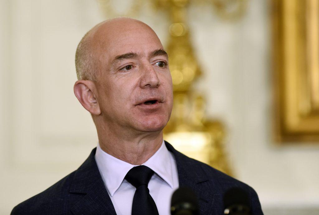 Amazon CEO Jeff Bezos (AP Photo/Susan Walsh, File)