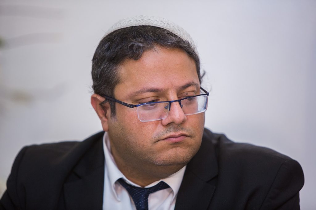 Attorney Itamar Ben-Gvir (Yonatan Sindel/Flash90)