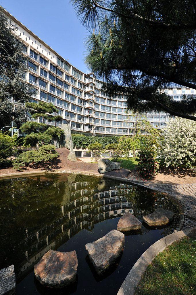 The UNESCO headquarters in Paris. (Michel Ravassard/UNESCO )